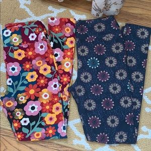 Two Pairs Lularoe Leggings